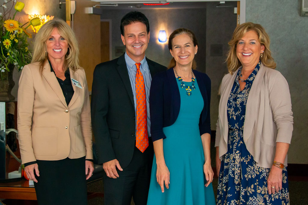 Lieutenant Governor Susan Bysiewicz visits Westview Commons in Dayville, CT