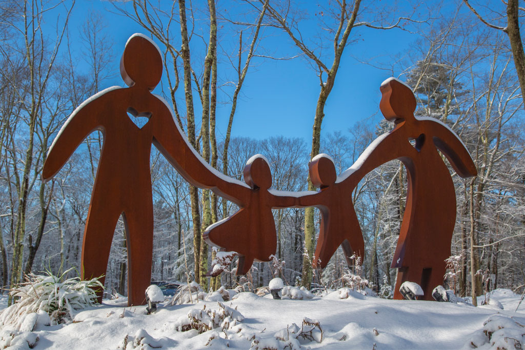 Image of Caring for Generations Sculpture
